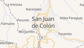 Carte en ligne de Colon