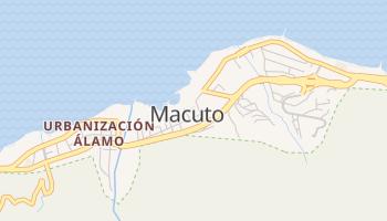 Carte en ligne de Macuto