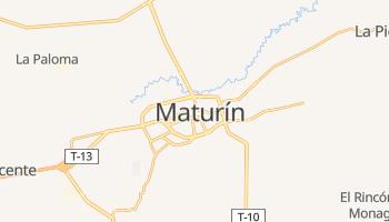 Carte en ligne de Maturín
