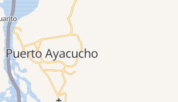 Carte en ligne de Puerto Ayacucho