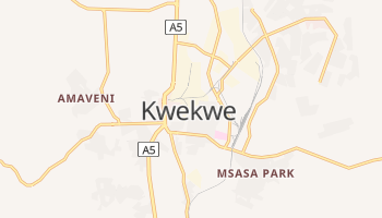 Carte en ligne de Kwekwe