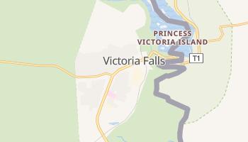 Carte en ligne de Chutes Victoria