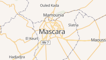 Mappa online di Mascara