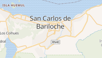 Mappa online di San Carlos de Bariloche