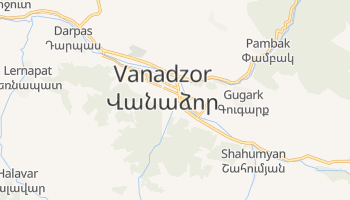 Mappa online di Vanadzor