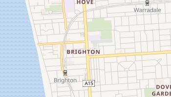 Mappa online di Brighton