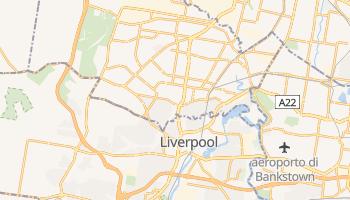 Mappa online di Liverpool
