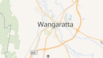 Mappa online di Wangaratta