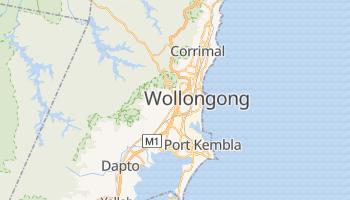 Mappa online di Wollongong