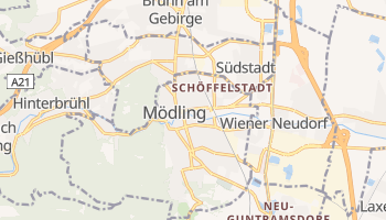 Mappa online di Mödling