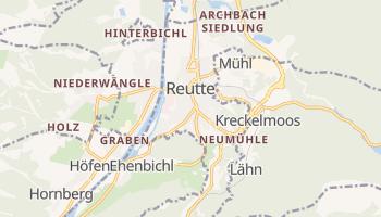 Mappa online di Reutte