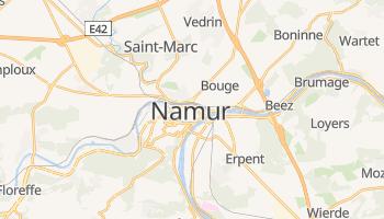 Mappa online di Namur