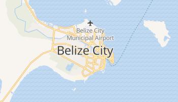 Mappa online di Belize