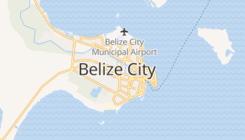 Mappa online di Belize City