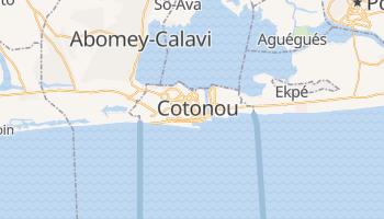Mappa online di Cotonou