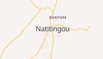 Mappa online di Natitingou