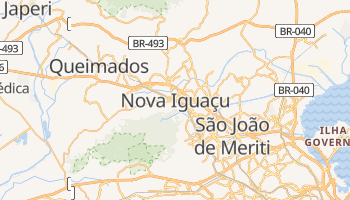 Mappa online di Nova Iguaçu