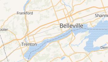Mappa online di Belleville
