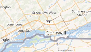 Mappa online di Cornovaglia