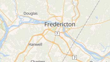 Mappa online di Fredericton