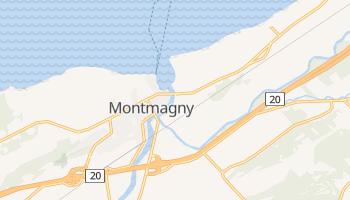 Mappa online di Montmagny