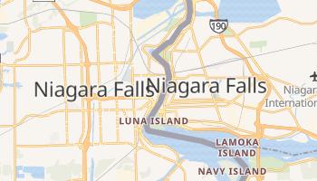 Mappa online di Niagara Falls