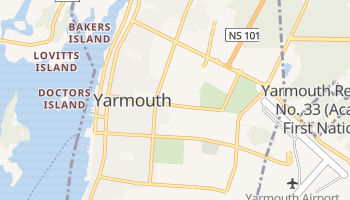 Mappa online di Yarmouth
