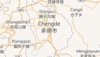 Mappa online di Chengde