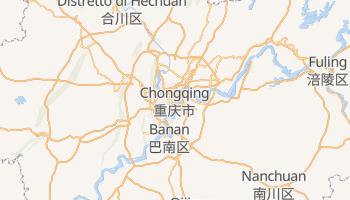 Mappa online di Chongqing