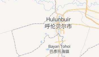 Mappa online di Hailar