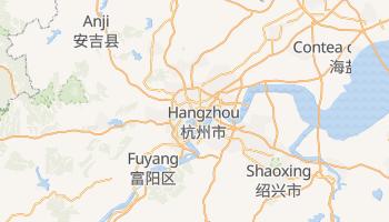 Mappa online di Hangzhou