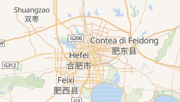 Mappa online di Hefei