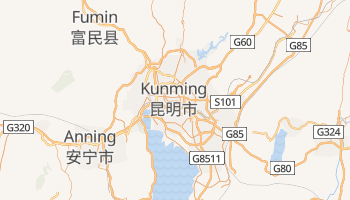 Mappa online di Kunming
