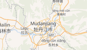 Mappa online di Mudanjiang