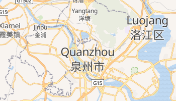 Mappa online di Quanzhou
