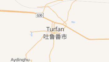 Mappa online di Turfan