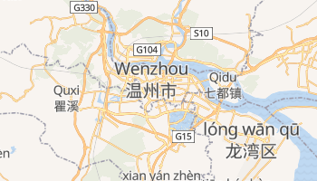 Mappa online di Wenzhou