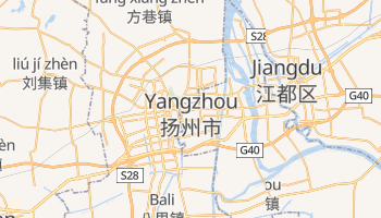 Mappa online di Yangzhou