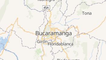 Mappa online di Bucaramanga