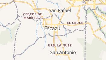 Mappa online di Escazú