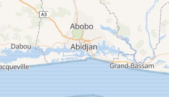 Mappa online di Abidjan