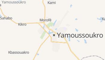 Mappa online di Yamoussoukro
