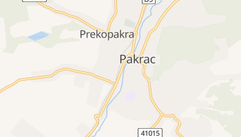 Mappa online di Pakrac