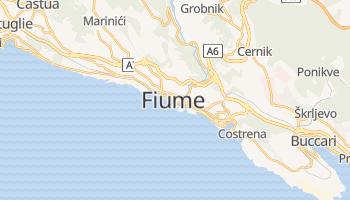Mappa online di Fiume