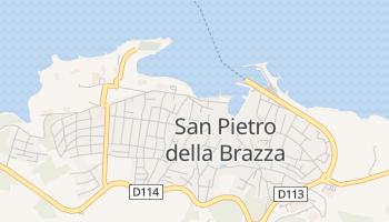 Mappa online di San Pietro della Brazza