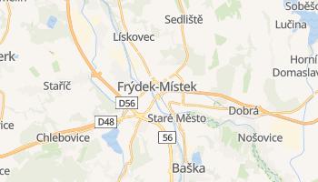 Mappa online di Frýdek-Místek