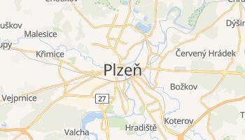 Mappa online di Plzeň