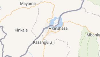 Mappa online di Kinshasa