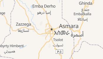 Mappa online di Asmara