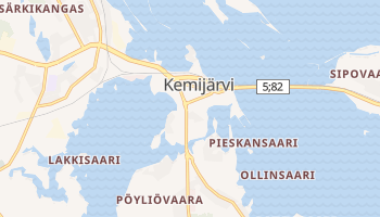 Mappa online di Kemijärvi